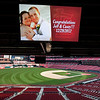 Dobner Reception : The Championship Club at Busch Stadium was the scene of Casey and Jeffs wedding reception. They recently said their vows on a Florida beach in December but decided to carry their celebration of their union to St. Louis. The setting at Busch was magical and first class! What a great evening it was with family and friends coming together to give them a memorable reception.